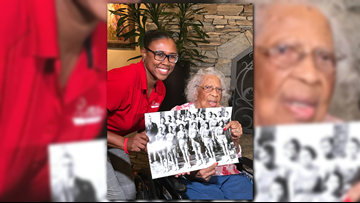103-year-old former college hoops player gets surprise visit from team