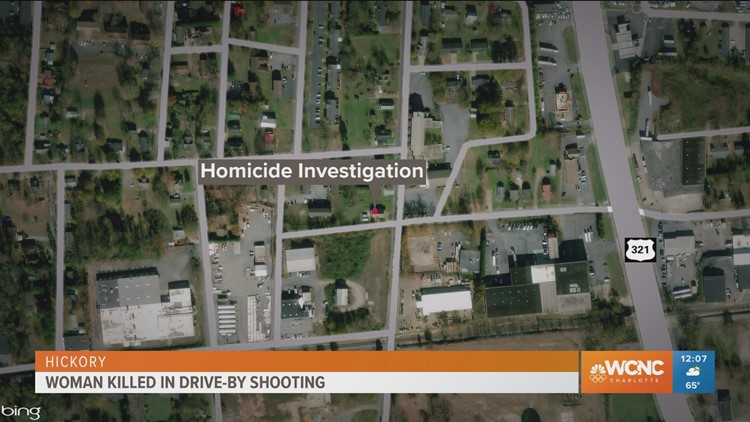Woman killed in drive-by shooting
