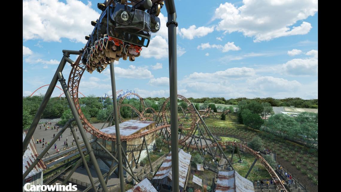 Carowinds breaks ground on Copperhead Strike roller coaster | wcnc com
