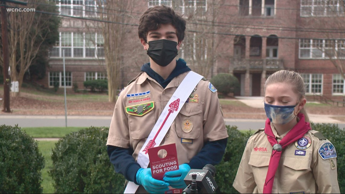 Scouting For Food drive begins across Charlotte area