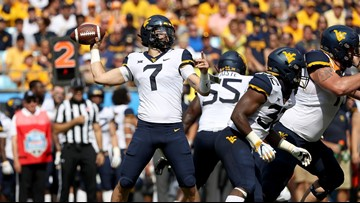 Grier leads No. 17 West Virginia past Tennessee in Belk College Kickoff