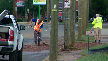 Water main break shuts down stretch of South Boulevard for hours before reopening