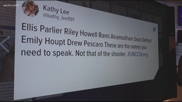 After UNCC shooting, countless people reach out on social media