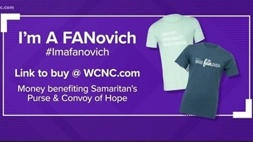 How to order 'I'm a Brad FANovich' t-shirt for charity