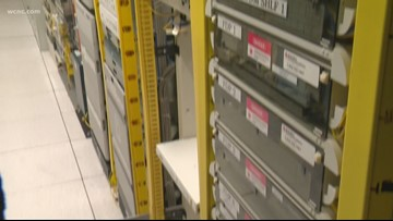 'The backup to the backup is never good enough' | NBC Charlotte goes inside Verizon's secret switch facility