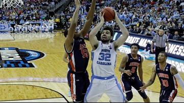 Hot-shooting Auburn upsets No. 1 North Carolina 97-80