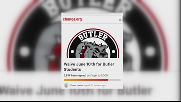 Butler High students pushing to waive make-up day