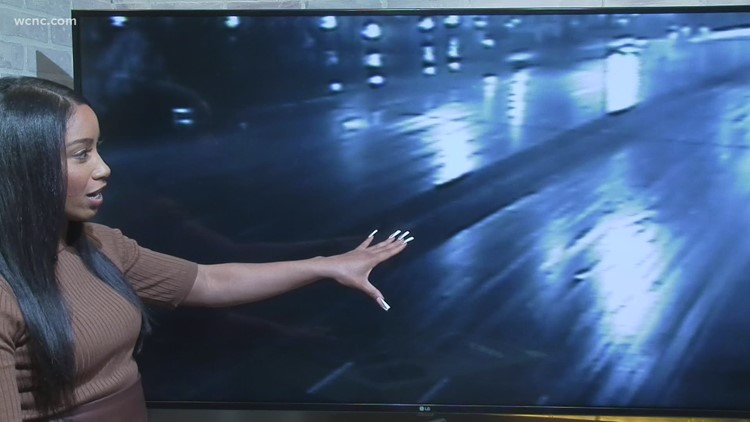 Rain causes slow commute in Charlotte