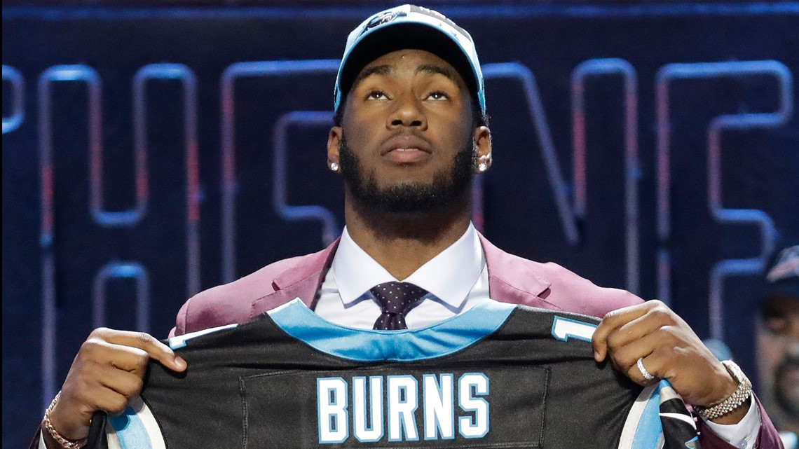 Brian Burns selected by Carolina Panthers with No. 16 pick in 2019 NFL Draft