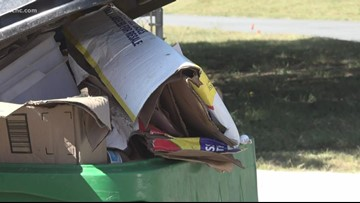 The city of Charlotte may be looking through your recycle bin