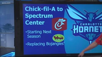 Charlotte Hornets fans react to Chick-fil-A coming to Spectrum Center