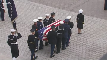 President George H.W. Bush to be buried in Texas Thursday