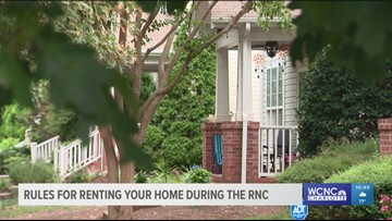 Rules for renting your home during the 2020 RNC