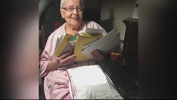 Belmont woman wants 95 birthday cards to celebrate her 95th birthday