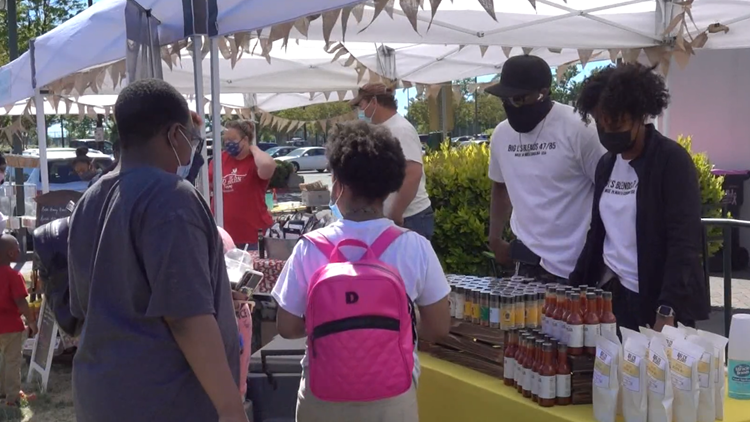 University City Farmers Market draws shoppers on first weekend of the season