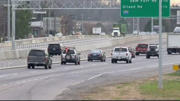 """Cameras along I-77 to catch """"toll lane cheaters"""""""