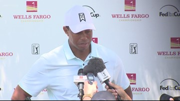 Round two of the Wells Fargo Championship