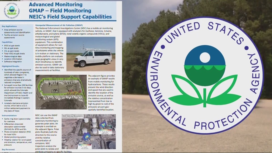 Specialized vehicle proves paper mill is causing foul odor in SC