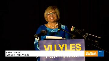 Charlotte Mayor Vi Lyles wins Democratic primary for mayor