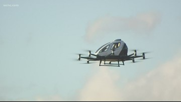 NC hosts first-ever US launch of pilot-less air taxi
