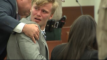 Jury finds ex-UNCC quarterback Kevin Olsen not guilty on all rape charges