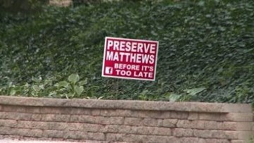 The Defenders: Homeowners trying to stop development project in Matthews