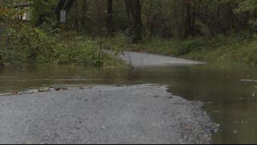 NC mountains already seeing flooding