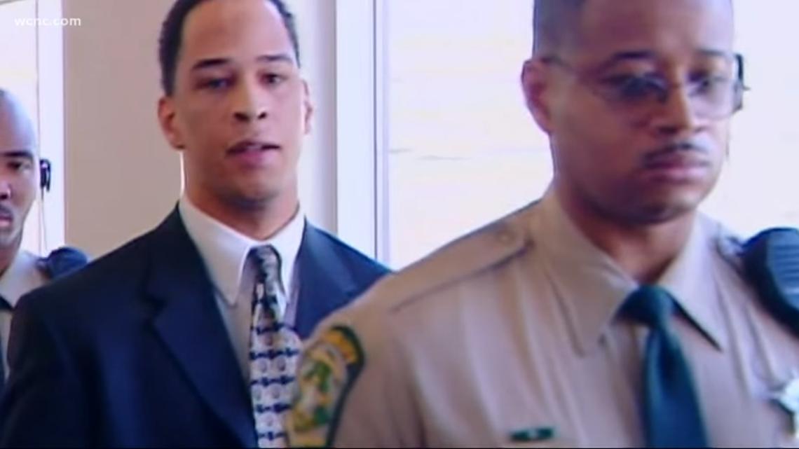 fe6ffa6dd68 Former Carolina Panthers wide receiver Rae Carruth spent the last 18 years  behind bars for plotting to kill the mother of his unborn child.