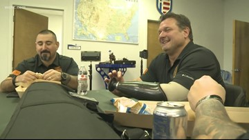 Non-profit helps injured veterans with public speaking
