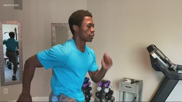 Athlete's stay at home workouts during social distancing