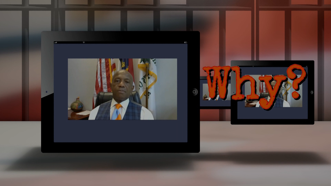 Sheriff explains inmate access to tablets