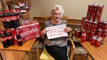 102-year-old gets surprise delivery from Cheerwine