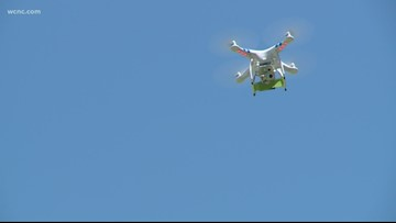 North Carolina first in flight again with drone deliveries of prescription drug