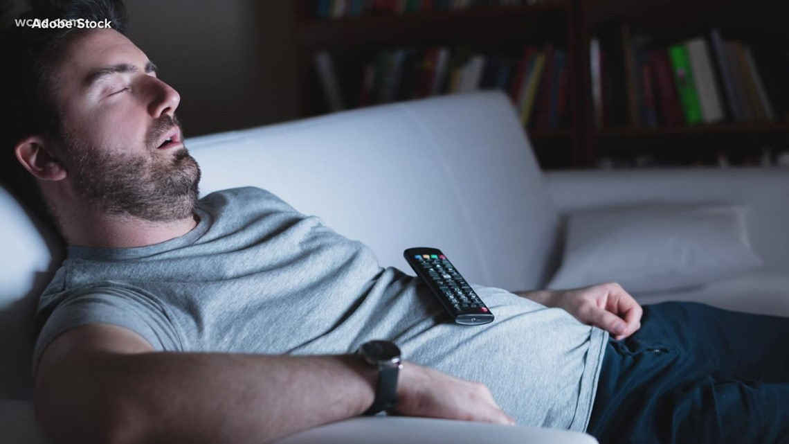 Why falling asleep with the TV on is bad for your health