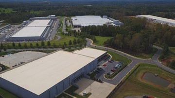 Tech giants building massive data centers in North Carolina foothills