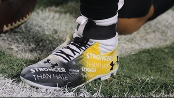 'Stronger than hate' | Cam Newton pays tribute to Pittsburgh
