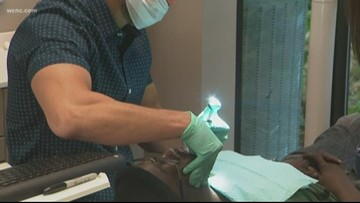 Huntersville dentistry provides veterans with free service