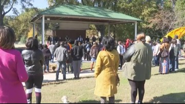 Community gathers for prayer rally for Butler High School