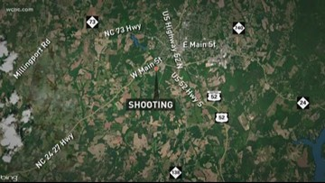 Officer shot at by suspect while investigating a shooting