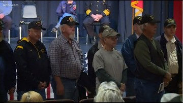 'It's a brotherhood' | Veterans gather in Kings Mountain to celebrate freedom