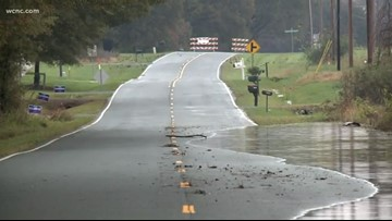Water rescues in Union County following heavy rain and flooding