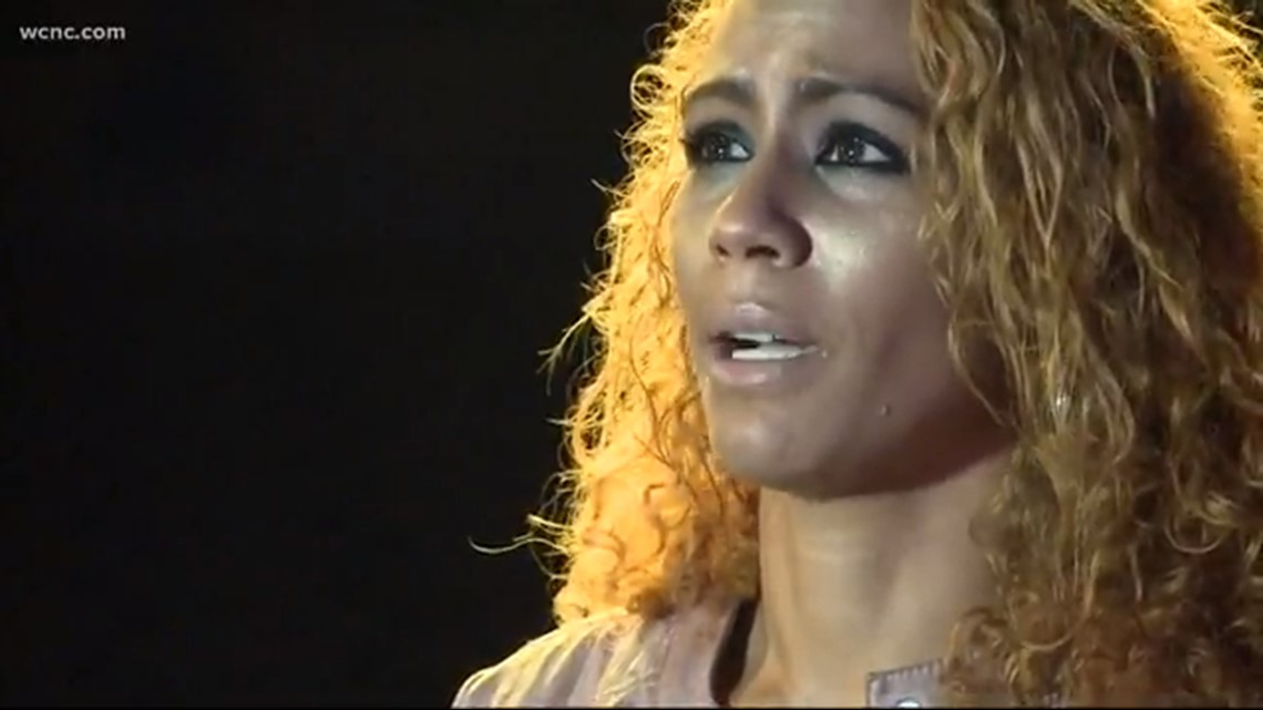 Sex trafficking survivor brought to Charlotte shares her story
