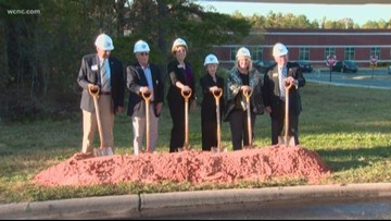 South Piedmont Community College breaks ground on a new building