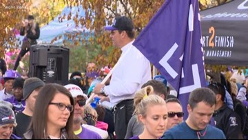 Hundreds participate in walk to end pancreatic cancer