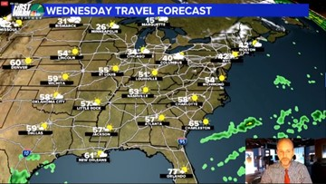 Good news, bad news in Brad's holiday travel forecast