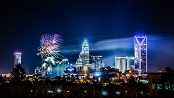 Where to see Fourth of July fireworks in the Charlotte area