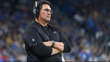 Ron Rivera: Panthers struggles are 'tough on me'