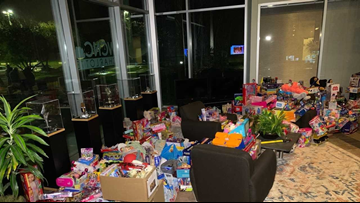 Monroe group purchases over 900 toys for Magical Toy Drive