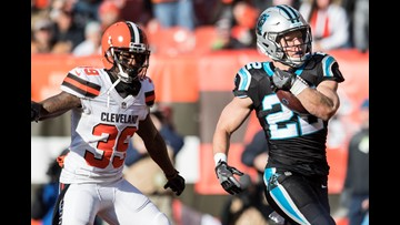 Panthers fall to Cleveland Browns, suffer fifth straight loss