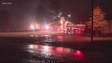 Fort Mill church damaged by fire late Sunday evening